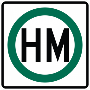 R14-2-Hazardous Material Sign