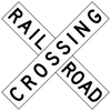 R15-1-Grade Crossing (Crossbuck) - Municipal Supply & Sign Co.