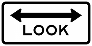 BR15-8-Look Sign - Municipal Supply & Sign Co.