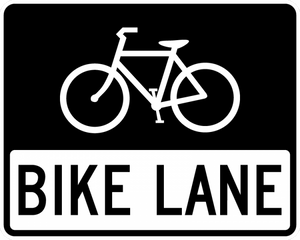 R3-17-Bike Lane Sign - Municipal Supply & Sign Co.