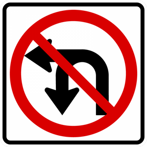 R3-18-Movement Prohibition Sign - Municipal Supply & Sign Co.