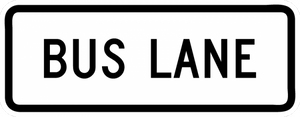 R3-5gP-Bus Lane Sign (plaque)