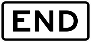 R3-9dP-END Sign - Municipal Supply & Sign Co.