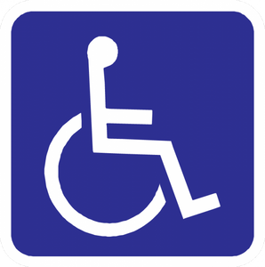 Handicap Symbol Sign - Municipal Supply & Sign Co.