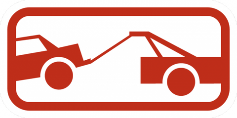 R7-201P-Tow Away Zone Sign (plaque)