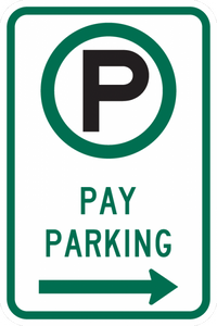R7-22-Pay Parking Sign - Municipal Supply & Sign Co.
