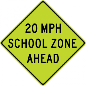 S4-5a-Reduced School Speed Limit Ahead - Municipal Supply & Sign Co.