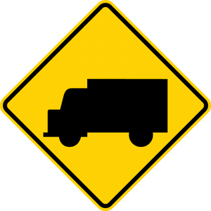 W11-10-Truck Sign