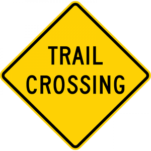 W11-15a-Trail Crossing Sign