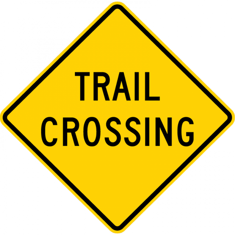 W11-15a-Trail Crossing Sign - Municipal Supply & Sign Co.