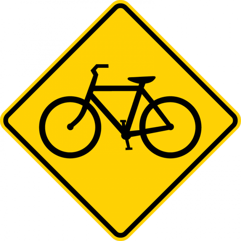 W11-1 - Bicycle Sign - Municipal Supply & Sign Co.