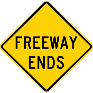 W19-3-Freeway Ends - Municipal Supply & Sign Co.