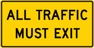 W19-5-All Traffic Must Exit