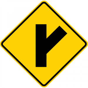W2-3-Intersection Warning Sign