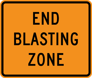 CW22-3-End Blasting Zone - Municipal Supply & Sign Co.