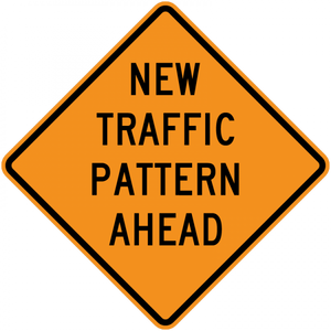 CW23-2-New Traffic Pattern Ahead - Municipal Supply & Sign Co.