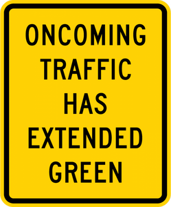 W25-1-Traffic Signal ExtendedGreen