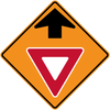 CW3-2-Yield Ahead - Municipal Supply & Sign Co.