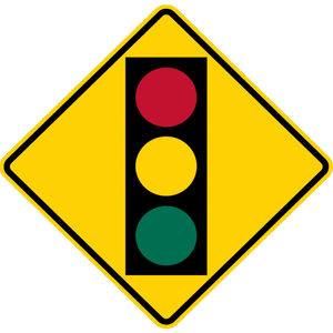 W3-3-Advanced Traffic Control Sign