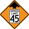 CW3-5-Reduced Speed Limit Ahead