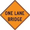 CW5-3-One Lane Bridge - Municipal Supply & Sign Co.