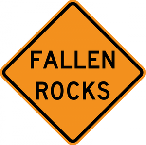 CW8-14-Fallen Rocks - Municipal Supply & Sign Co.