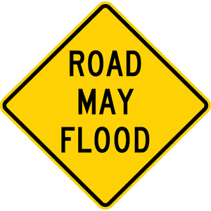 W8-18-Road May Flood Sign