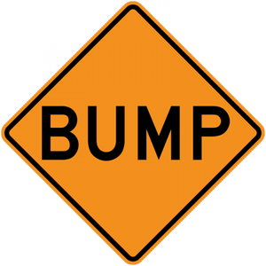 Speed Bump Sign Alternate - Municipal Supply & Sign Co.