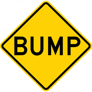 Speed Bump Sign - Municipal Supply & Sign Co.