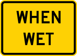W8-5P-Road Condition Sign (plaques)