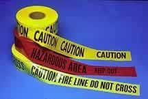 Caution Tape - Municipal Supply & Sign Co.