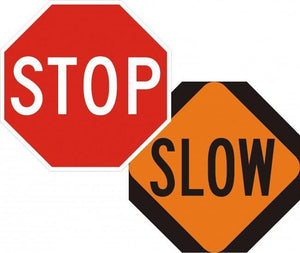 CW20-8-Slow (on Stop/Slow Paddle) - Municipal Supply & Sign Co.