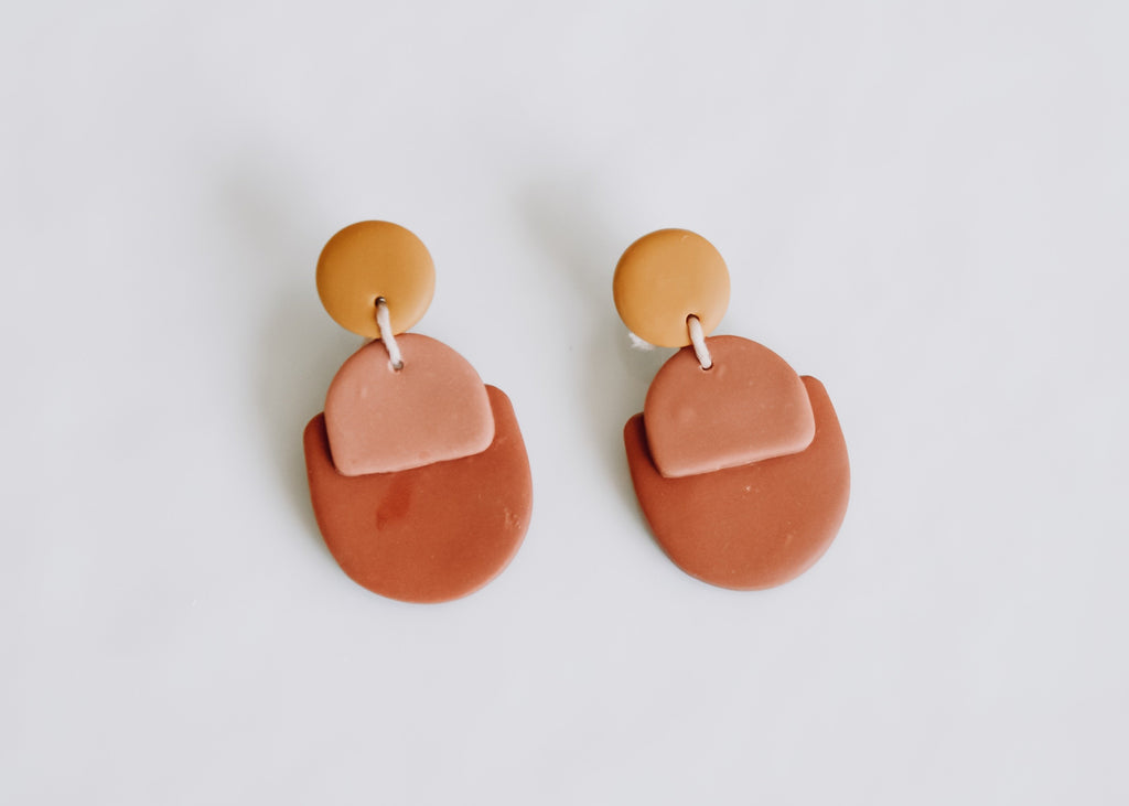 Margot Clay Earring