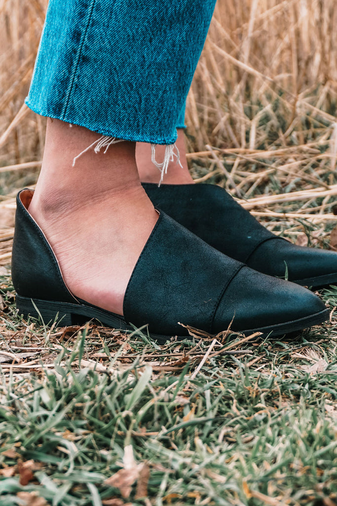 The Carly Bootie in Black
