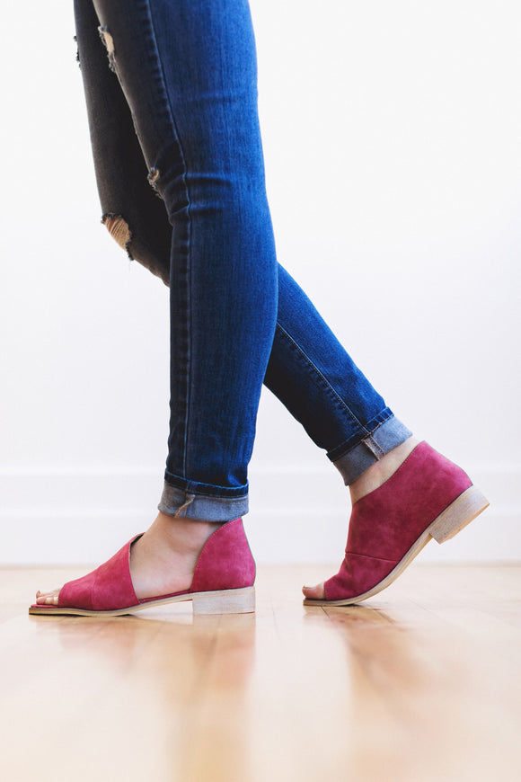 The Harley Flat in Fuschia