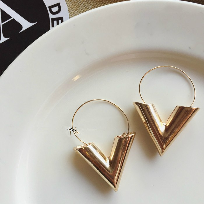 The Veronica Gold Color Earrings