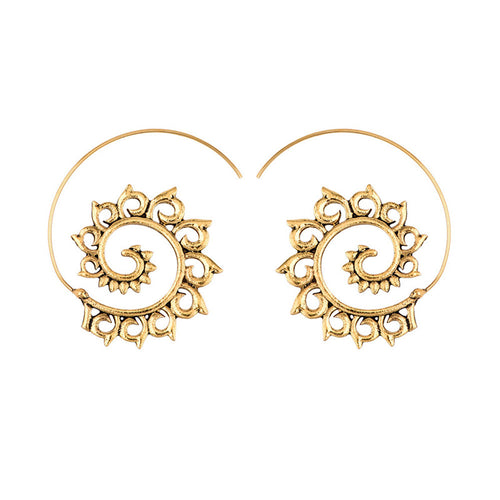 Enza Spiral Earrings