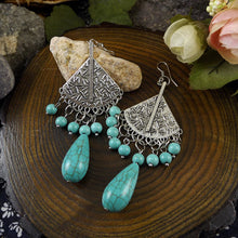 Vintage Turquoise Gypsy Earring