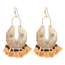 Lush Antique Tassel Earrings