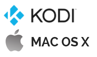 Kodi for Apple MAC OS X