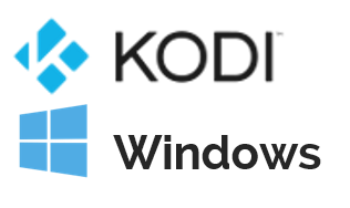 Kodi for Windows