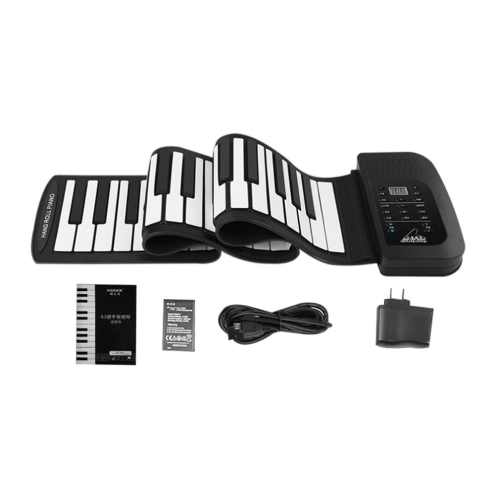 Image result for PIANOLITE™ PORTABLE ELECTRONIC PIANO WITH SPEAKER