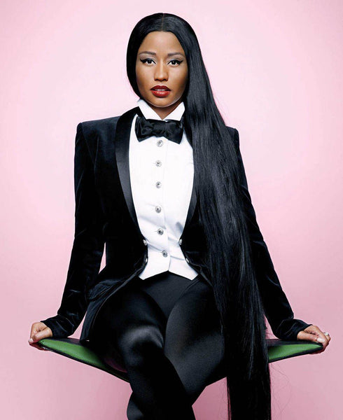 NICKI MINAJ ELLE COVER SHOOT BY KARL LAGERFELD