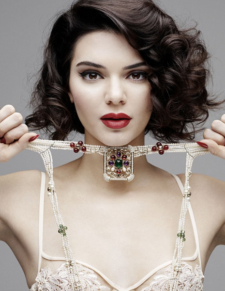 KENDALL JENNER MARILYN MONROE PHOTOSHOOT/VIDEO-LOVE MAGAZINE