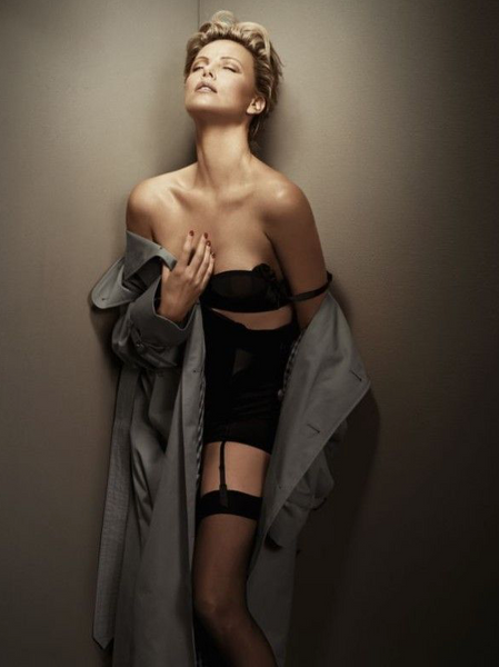 CHARLIZE THERON PHOTOSHOOT FOR GQ MAGAZINE