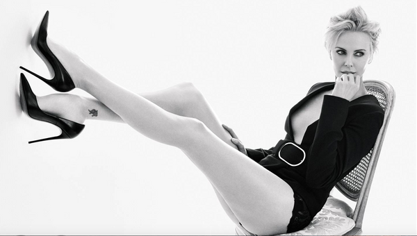 CHARLIZE THERON GQ PHOTOSHOOT