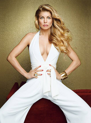 FERGIE'S ALLURE COVER SHOOT