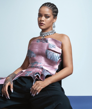 RIHANNA'S VOGUE PHOTOSHOOT