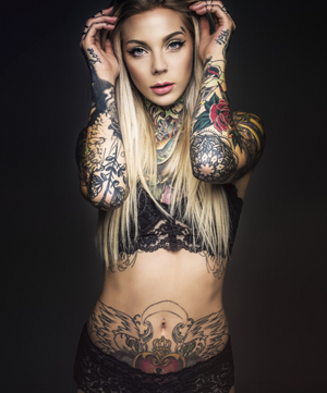 MADISON SKYE INKED PHOTOSHOOT