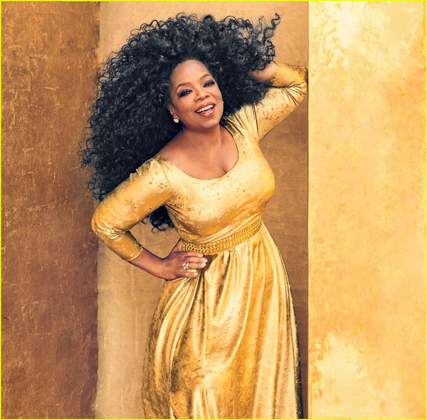 OPRAH WINFREY'S IN STYLE COVER SHOOT